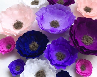 Adelaide rose wedding flowers giant paper flowers boho paper crepe paper flowers wedding flowers giant paper flowers boho paper flowers boho party deco nursery decorations wedding decor party decor junglespirit Choice Image