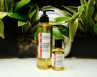 Skin brightening oil face cleanser