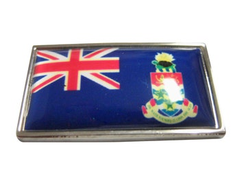 Thin Bordered Cayman Islands Flag Magnet