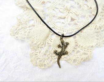 Gecko Necklace / Gecko / Men's Jewelry / women's jewelry / women / men / Jewelry