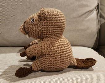 Beaver Amigurumi Plush