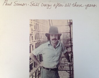 Paul Simon - Still Crazy After All These Years- vinyl record