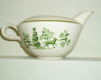 Homer Laughlin China - Country Squire - Creamer & Gravy Boat - Nelson Lebo - Vintage Dinnerware
