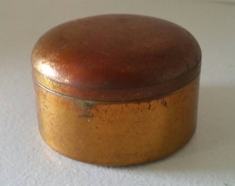 Vintage Marinellow Metal Compact
