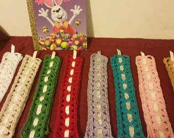 Large Crocheted Book Marks