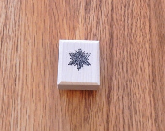 """Snowflake Large - .875"""" tall x .875"""" wide - 1 pc - SUT - C228"""