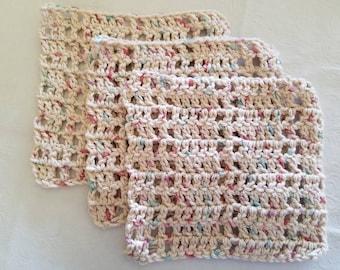 Tan Washcloth Set