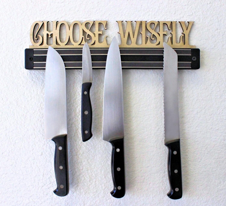 Custom Kitchen Knife Block Magnetic Knife Rack Knife Holder