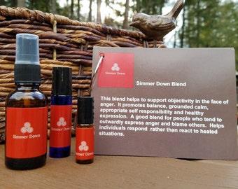 Simmer Down Anger Management Essential Oil Blend