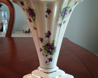 Vase with Lavender Flowers