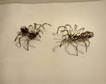 Spiders Set // Wire Art // Figure