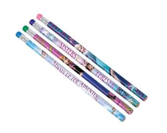 Disney's Frozen Pencils, Party Favors, Princess & Fairytales, Party Supplies