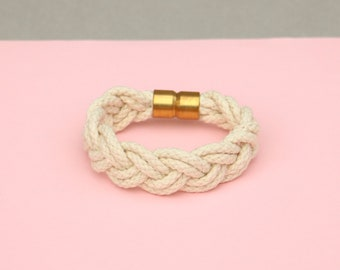 Braided Cotton Cord Bracelet
