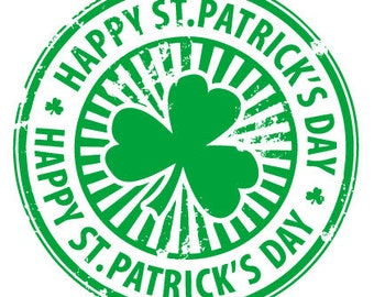 Happy Saint Patrick's Day Temporary fake tattoos