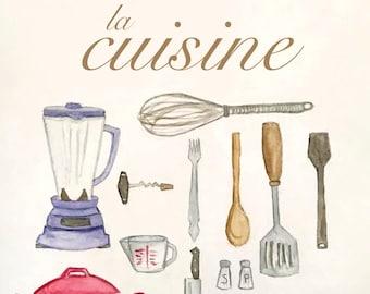 La Cuisine - Print