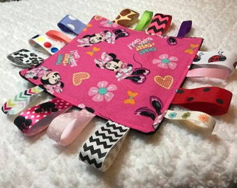 Minnie Mouse Baby Sensory Crinkle Toy