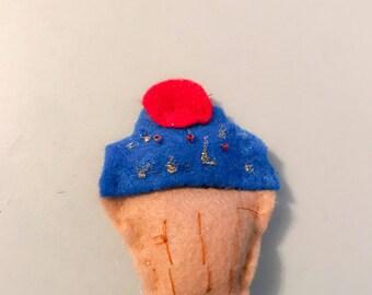 Yummy Cupcake Pin