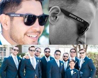 13 Groomsmen Sunglasses Set / Groomsmen Sunglasses / Groom Glasses / Wedding Sunglasses / Sunglasses for Groomsmen