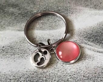 Baby Shower Keyrings ~ Baby keychain etsy