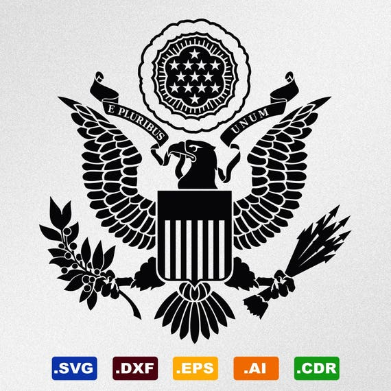 American Eagle Great Seal Full Version Symbol Coat Of Arms