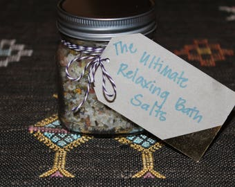 The Ultimate Relaxing Bath Salts