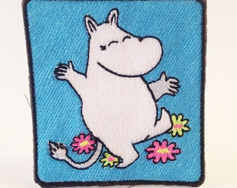 Moomin custom patch