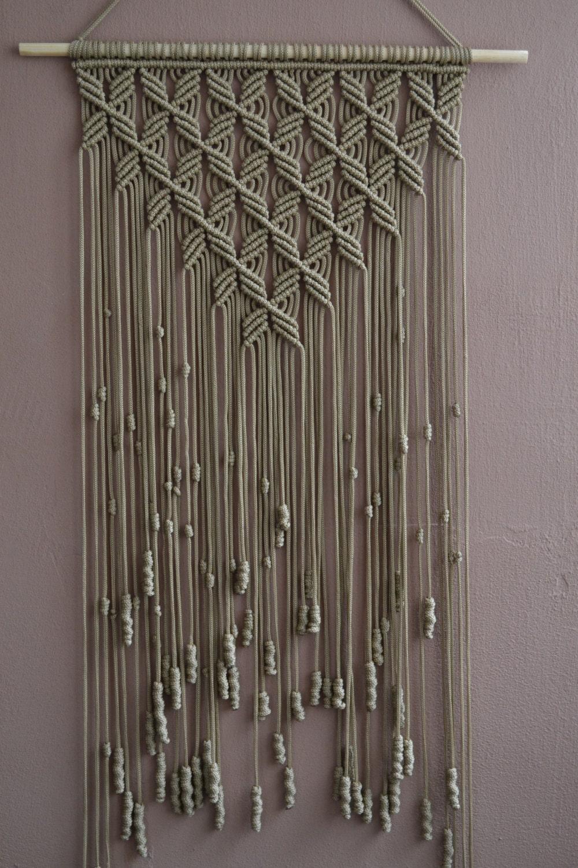 home decorative macrame wall hanging b01ms6xx92. Black Bedroom Furniture Sets. Home Design Ideas