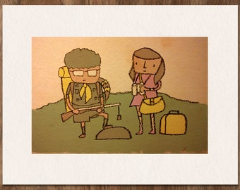 Wes Anderson MOONRISE KINGDOM Limited Edition Print