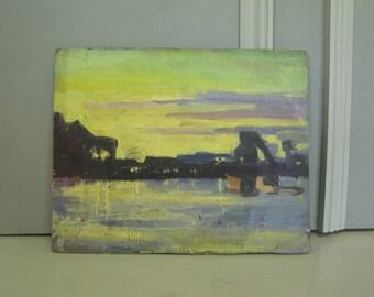 1950's oil by George Daniel