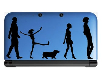 Cowboy Bebop team- Anime Decal for Nintendo 3ds, Macbooks, Laptop, iPhone, XBox, Playstation, Cars, Windows, Wall