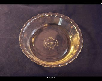PYREX mini PIE or tart PLATE : mini pie plate - pezcame.com