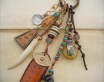 Shaman Ritual Amulet Necklace