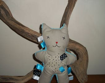 Cuddly kitten tags Baby 1st age