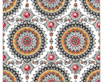 "Mandala art print ""Wallpaper"""