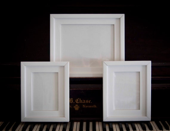 Picture Frames - 3 Piece Frame Collection 1) 8x10 2) 5x7 Stacked ...