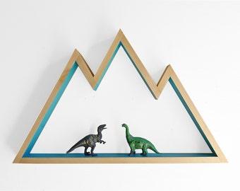 Mountain Shelf / Wall Hanging Art (large)