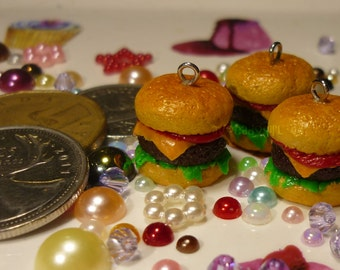 Cheeseburger Charm/Zipper Pull