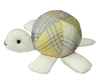 Turtle Pin Cushion Sewing Project Kits for Beginners Quilting Kits with Fabric and Pattern Full Size