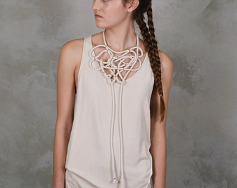 Collection EARTH I Necklace 'Organic Rope'