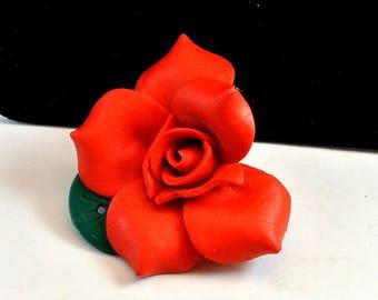 Red Rose Thumb Tack Push Pin Rose Push Pin Thumbtack for Cork Board Push Pin for Bulletin Board Office Decor