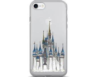 CLEAR EDITION Cinderella Castle - iPhone Case - Walt Disney World Resort - Princess Castle - Gift - iPhone 6 / 7 / 8 / X, Samsung Galaxy