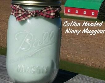 Cotton Headed Ninny Muggins Soy Candle in 16 oz Jar