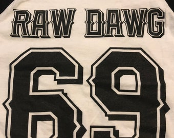 Raw Dawg Baseball T-shirt