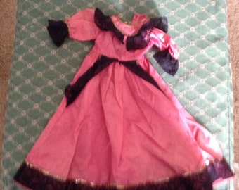 Glamourous Fashion Doll Party Dress