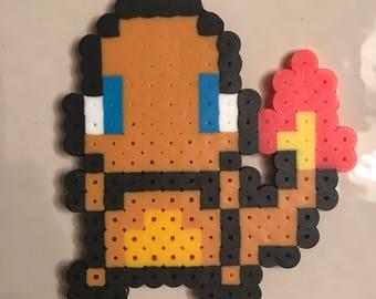 Charmander pixel art magnet
