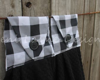 Hanging Kitchen Towel- Hanging Towels, Hand Towels, Kitchen Towels