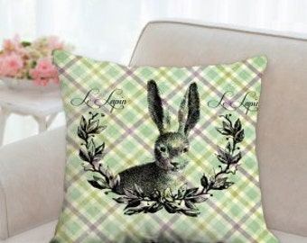Baby Bunny Easter Pillow