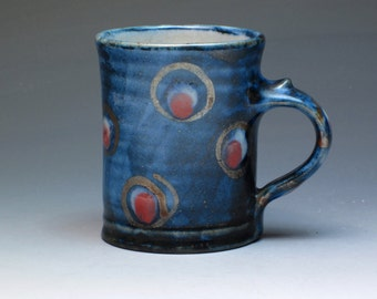 Robert Goldsmith Selborne Pottery Espresso Mug, Studio Pottery Mug, Hand Thrown Pottery Mug