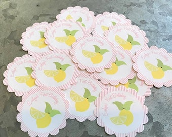 Lemonade Stickers