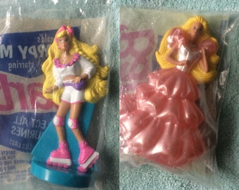 1991 Happy Meal Barbie toys